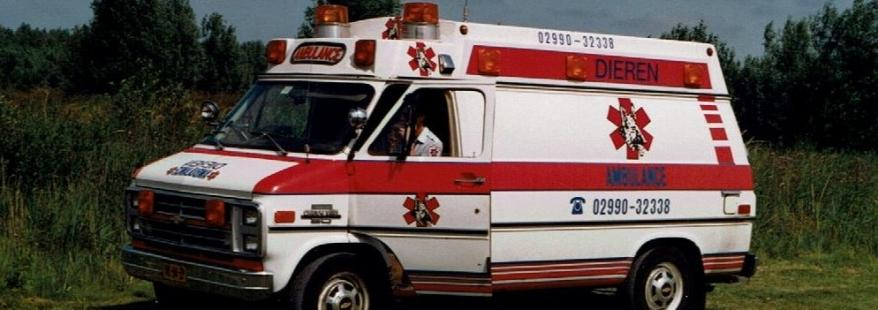 Ambulance Chevrolet eind jaren 80 begin 90